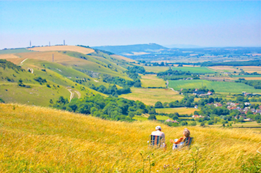 South Downs Couple